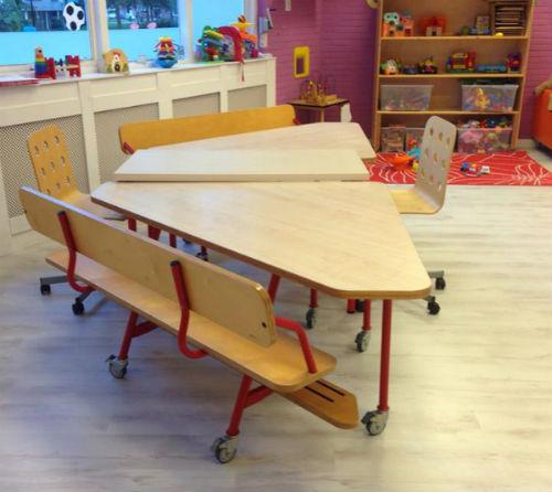 Kinderopvang opvang klazienaveen tafels
